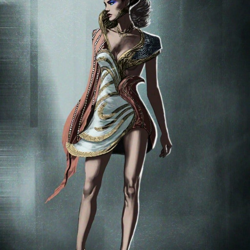 Lost Spring - Fantasy Female Character Fashion - Tsaber