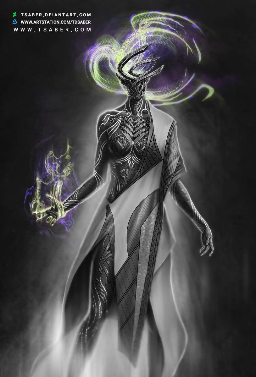 Resurrection - Scifi Robot Character Design Artwork - Tsaber
