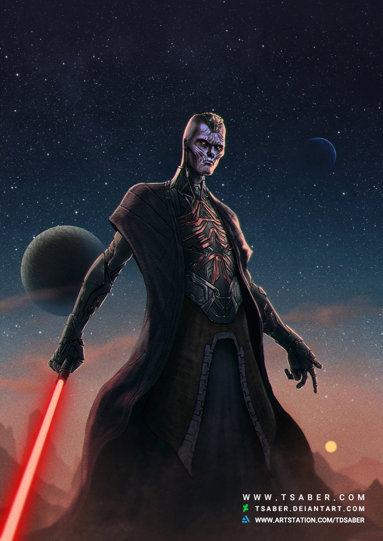 Sith Lord - Star Wars Fan Art Character - Tsaber