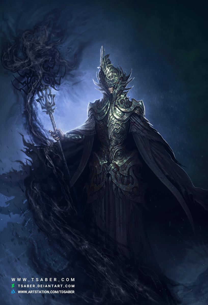 The Annihilator - Undead Arch-Mage - Tsaber