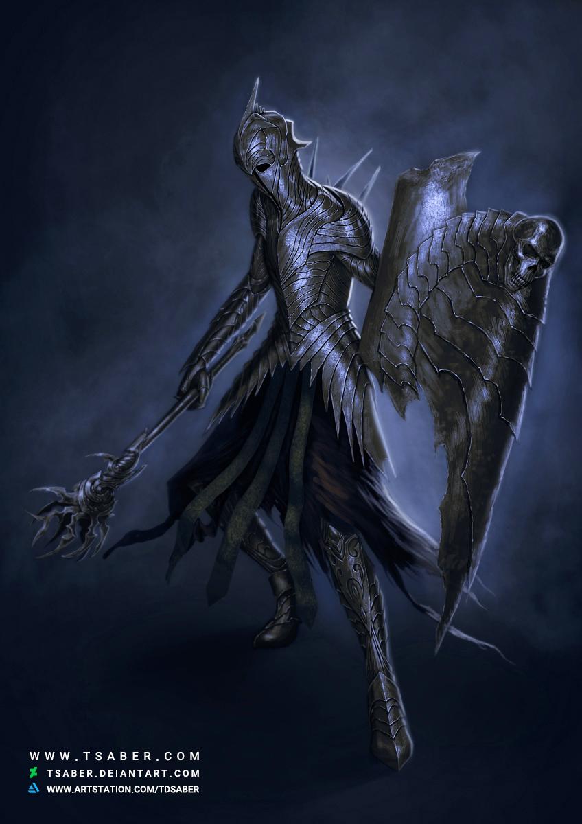 Deathless soldier - Undead Warrior Fantasy Artwork - Tsaber