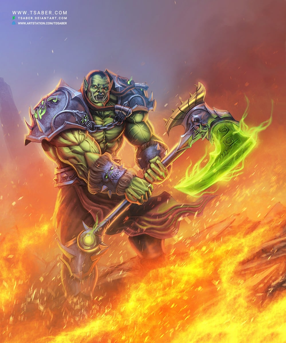 world-of-warcraft-orc-warrior