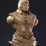 Scorpion Bust Zbrush