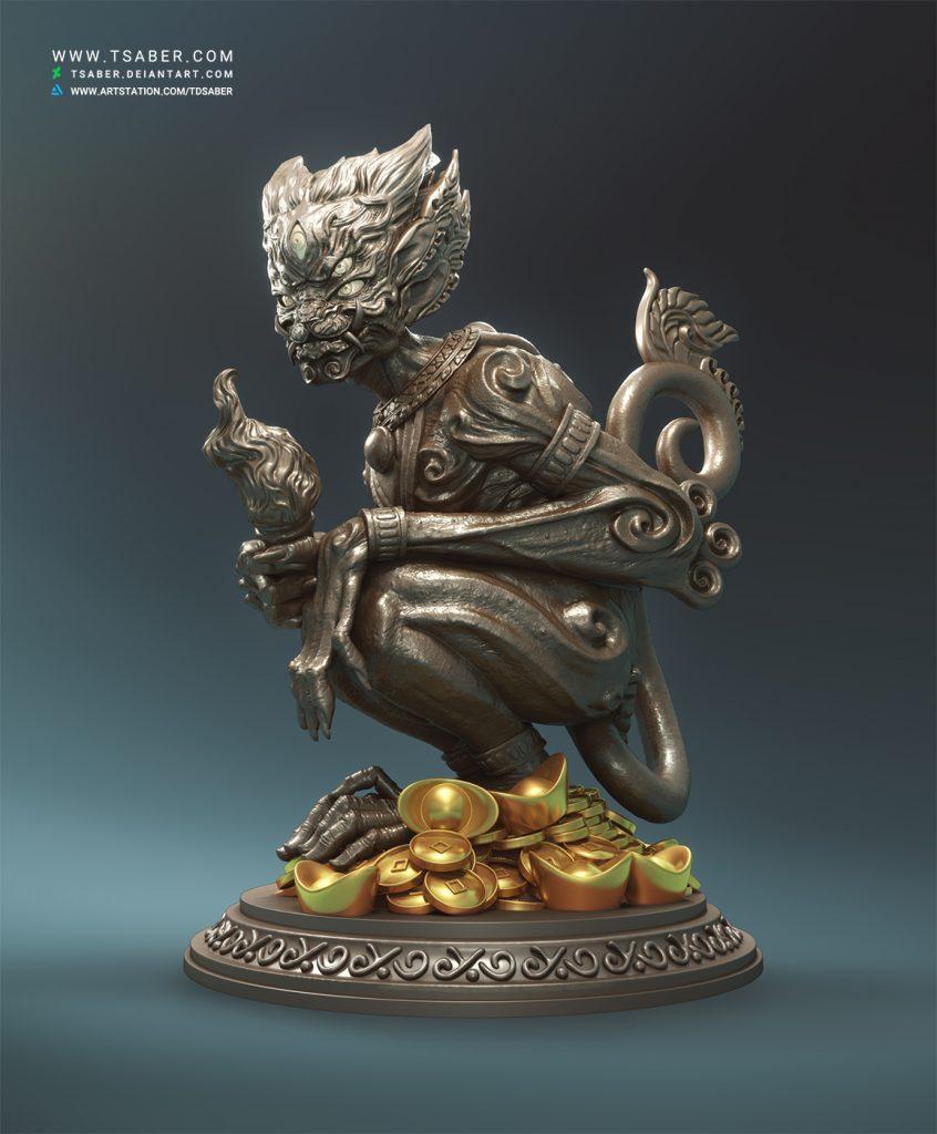 Demon statue - Tsaber