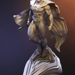 Superman Zbrush sculpture - DC Collectibles - Tsaber