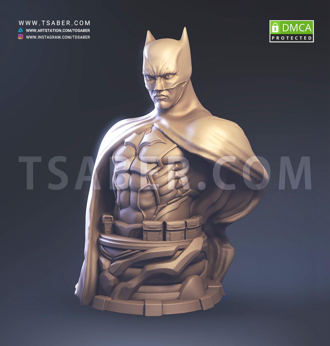 Batman Bust Sculpture - Tsaber