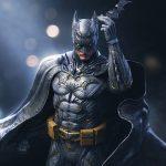 Batman DC Comics - Zbrush Character Statue Sculpture - Tsaber