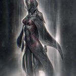 Benevolence - Scifi Robot Character Design Artwork - Tsaber