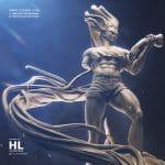 Gon VS Pitou - Hunter X Hunter Zbrush Statue sculpture Collectible - Tsaber