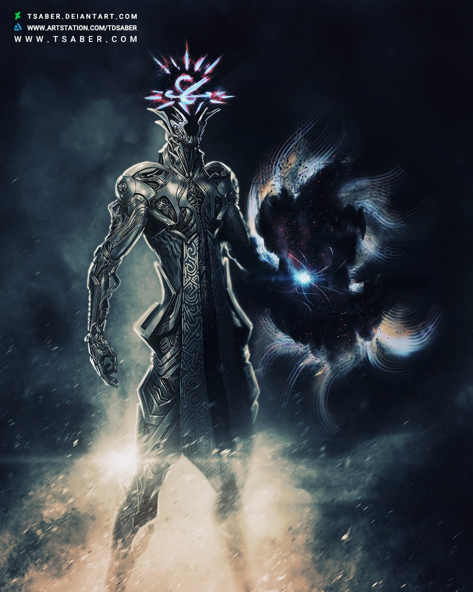 Consternation - Scifi Robot Character Design Artwork - Tsaber