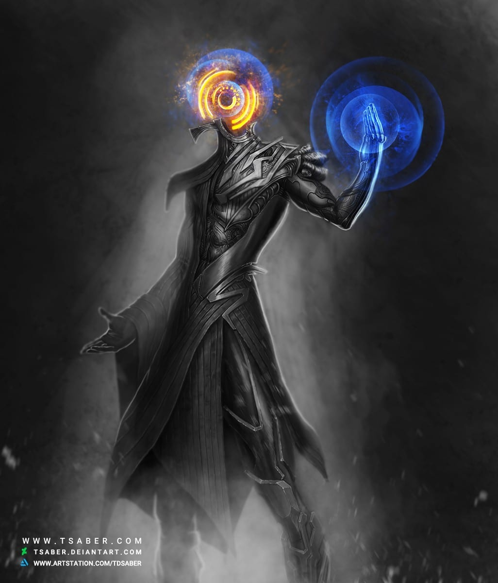 Justice - Scifi Robot Character Design Artwork - Tsaber