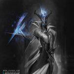 Virtue - Sci-fi Alien Robot Character Design - Tsaber