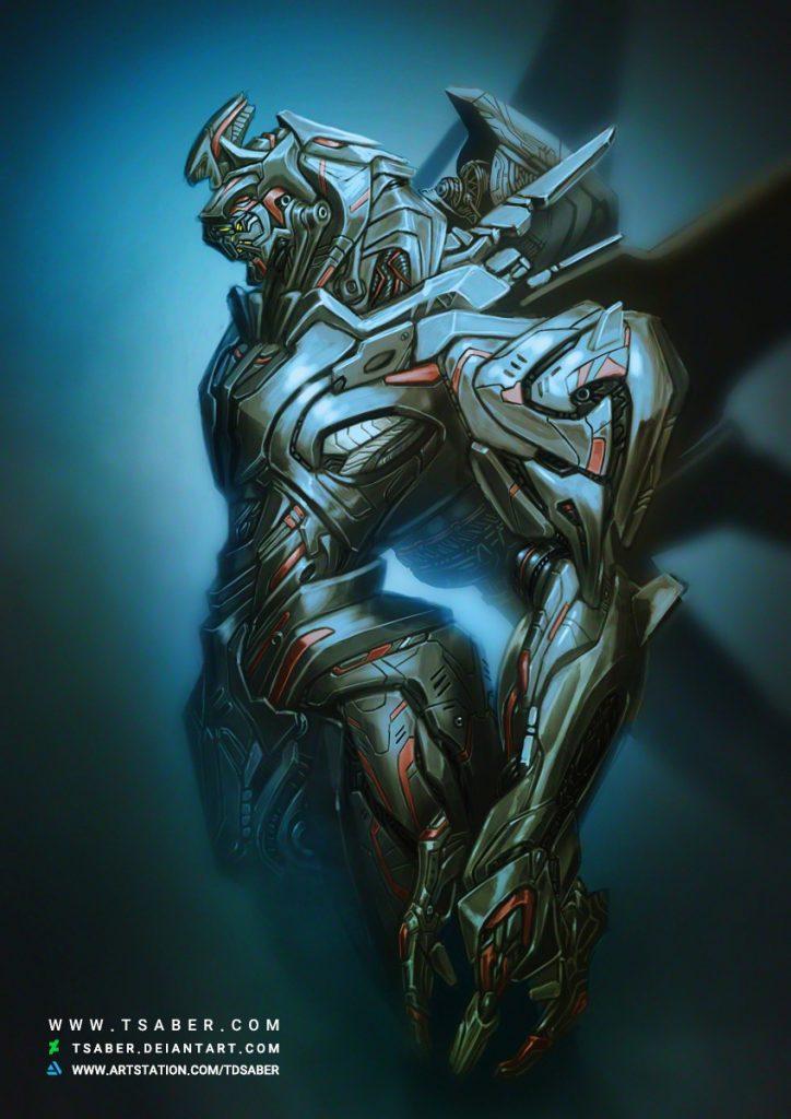 Mech Design - Sci-fi Robot Design - Tsaber