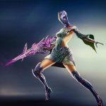 Sci-fi Sniper- Female character Illustration design - Tsaber