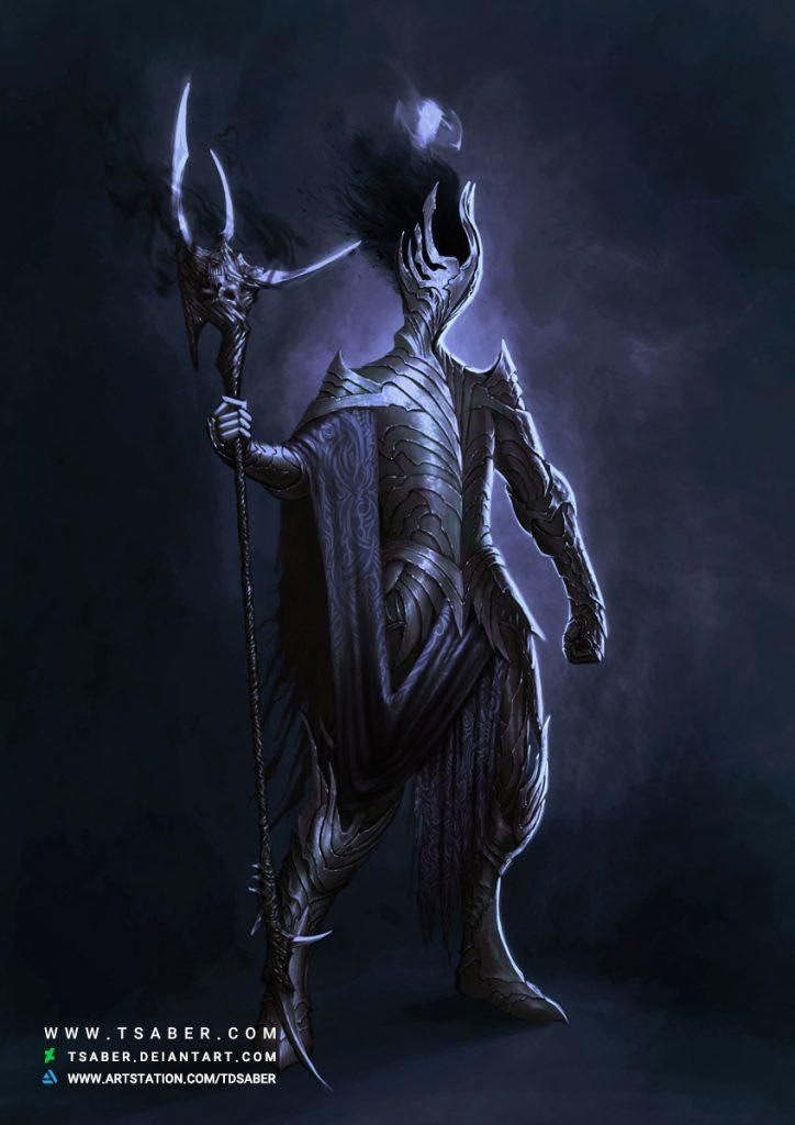 Undivine Sentry - Fantasy Undead Knight - Tsaber