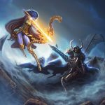 world-of-warcraft-elf-archer-rogue-undead-knight-fantart