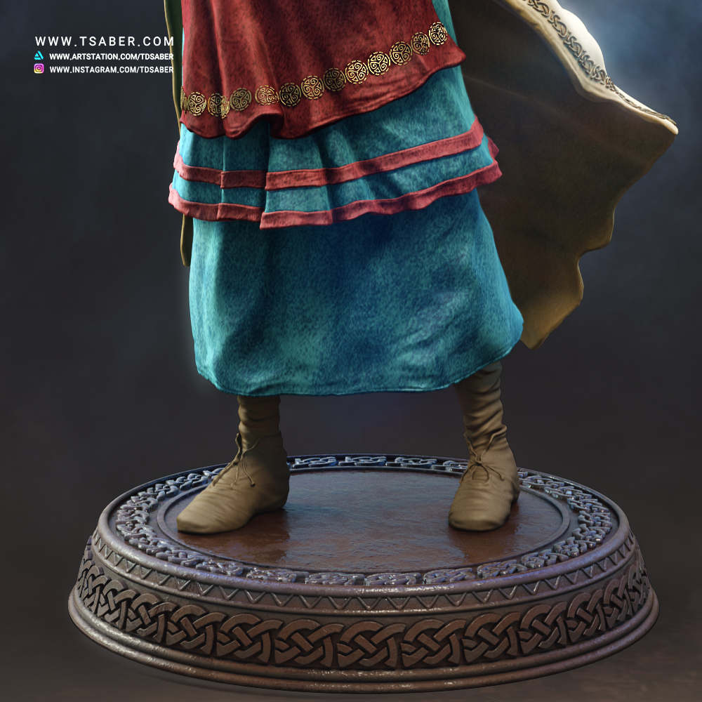 Aaricia Thorgal Collectible statue - Tsaber