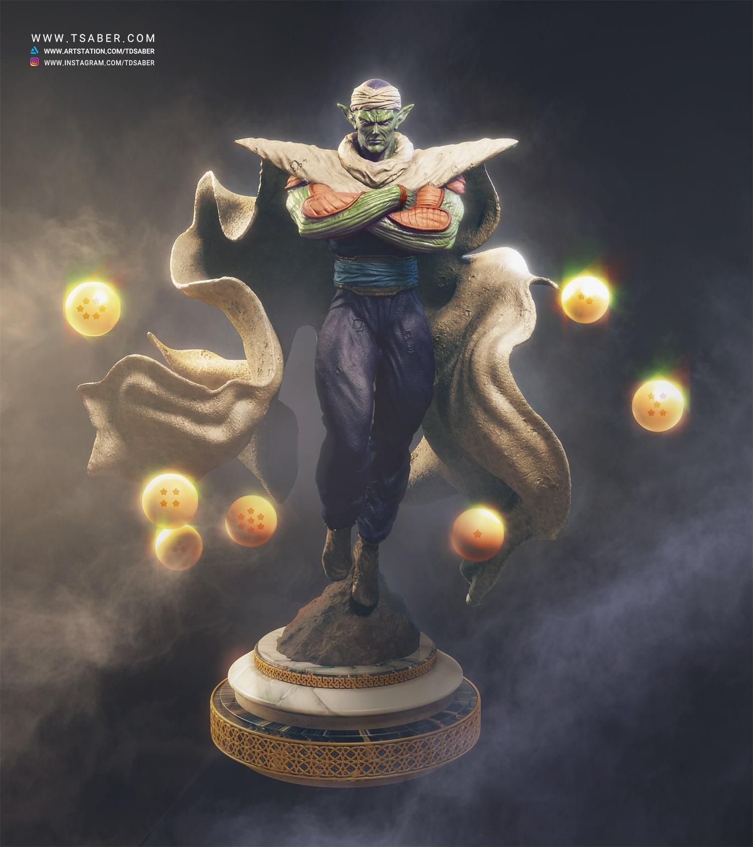 Piccolo statue