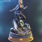 android 18 statue