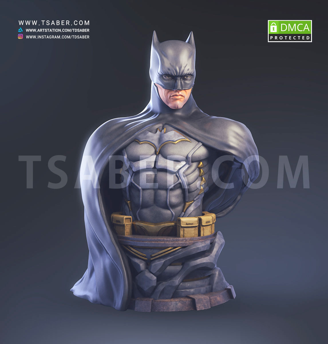 Batman Bust - DC Comics Collectibles - Tsaber