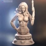 Black Widow Zbrush Bust - Marvel Collectible - Tsaber