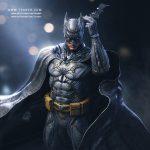 Batman 3d model DC Comics - Zbrush Character Statue Sculpture - Tsaber