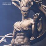 Gon VS Pitou - Hunter X Hunter Anime 3D Statue Collectible - Tsaber