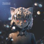 Pitou - Hunter X Hunter Anime 3D Statue - Tsaber