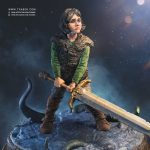 Thorgal Statue collectible - Fantasy comicbook character - Tsaber