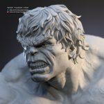 Hulk Statue - Marvel Comics Collectibles - Tsaber