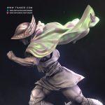 Hermes Sculpture Zbrush - Blood of Zeus - Tsaber