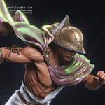 Hermes statue - Blood of Zeus Anime- Tsaber