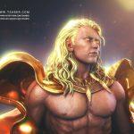 Apollo Zbrush - Blood of Zeus Anime- Tsaber