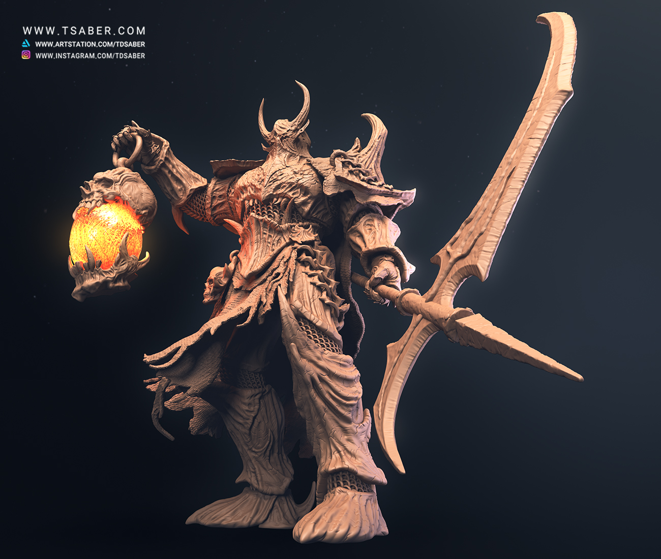 Death Knight Statue Collectibles- Myths of Valor -Tsaber