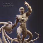 Frieza Statue Zbrush - DragonBall Z Collectibles - Tsaber