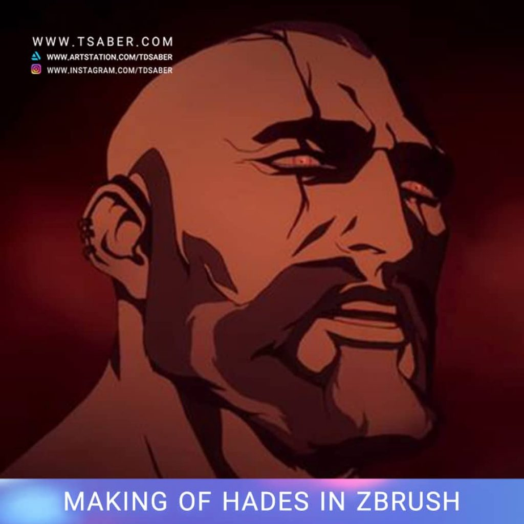 Making of Hades Statue Zbrush - Blood of Zeus - Tsaber