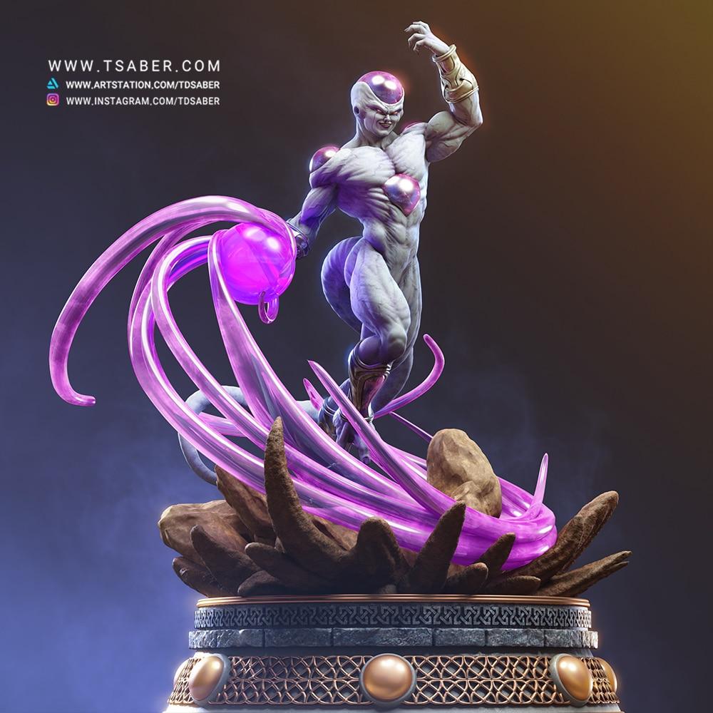 Frieza Statue - DragonBall Z Anime Collectibles - Tsaber