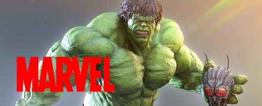 Marvel statue collectibles