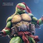 Raphael Statue - Teenage Mutant Ninja Turtles - Tsaber